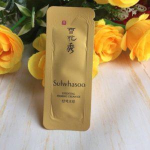 Sample Kem ngăn ngừa nếp nhăn Sulwhasoo Essential Firming Cream Ex dạng gói