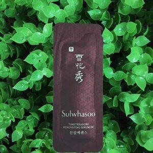 Sample Tinh chất giúp săn chắc Sulwhasoo Timetreasure Renovating Serum EX dạng gói