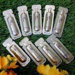 Sample Tinh dầu dưỡng thể Whoo Spa Body Essence Oil dạng gói