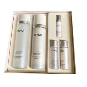 Bộ dưỡng OHUI Extreme White Special Set Intensive Whitening trắng da chuyên sâu (6 sản phẩm)