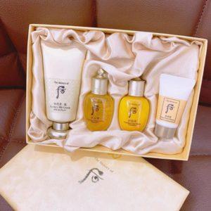 Bộ Kem Nền Che Khuyết Điểm Whoo Luxury BB Cream Special Set 4sp