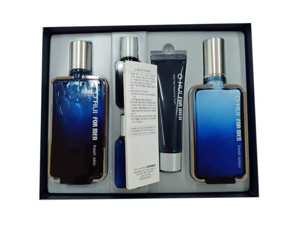 Bộ sản phẩm Ohui fresh skin chăm sóc da yếu cho nam giới (5 sản phẩm)