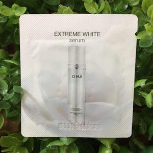 Sample Tinh chất Ohui Extreme White Serum dưỡng trắng da và chống lão hóa