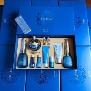 Set Su:m37 xanh Water-full Special Set cấp nước, cấp ẩm cho da dầu nhờn