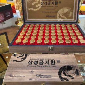 Thuốc bổ não chống đột quỵ Hàn Quốc 60 viên