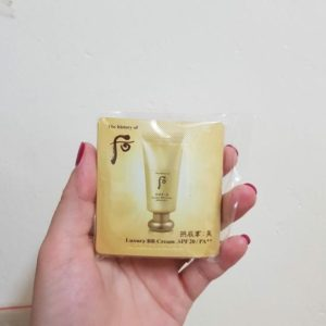 Sample Kem nền Whoo trang điểm Luxury BB Cream SPF20/PA++.